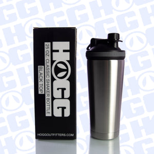 25oz CLASSIC SHAKER BOTTLE CASE (25 UNITS) - BLACK