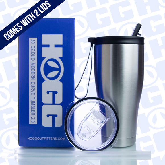 30OZ DUO MODERN CURVE 2.0 TUMBLER CASE (25 UNITS) - COMES WITH TWO LIDS