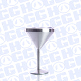 8oz MARTINI TUMBLER W/ CLEAR SLIDING LID