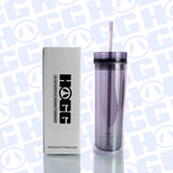 16oz ACRYLIC TUMBLER W/ STRAW - COLORS