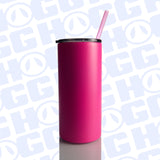 22oz FATTY TUMBLER W/ STRAW - COLORS