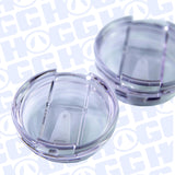 20oz MODERN CURVE TWIST LID TUMBLER CASE - LEAKPROOF LIDS (25 UNITS)