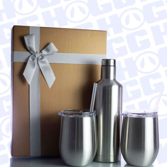 WINE GLASS GIFT SET - AMAZING GIFT!