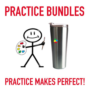 PRACTICE ON THESE CUP BUNDLE - GREAT PRACTICE FOR ROOKIES OR PROS!
