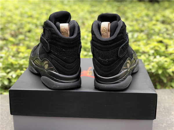 official photos fb4f4 3e08f Jordan 8 - OVO (Black) – X-Level