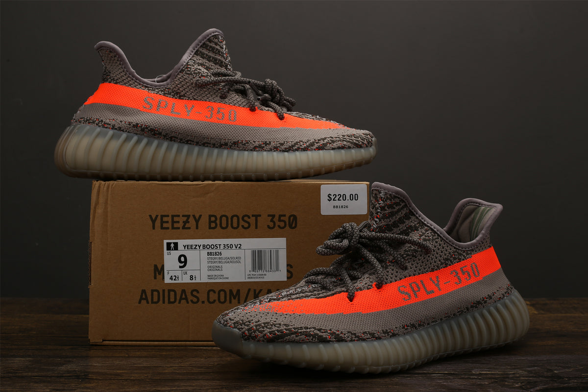 buy popular 73746 11afc Yeezy 350 V2 - Beluga (BASF)