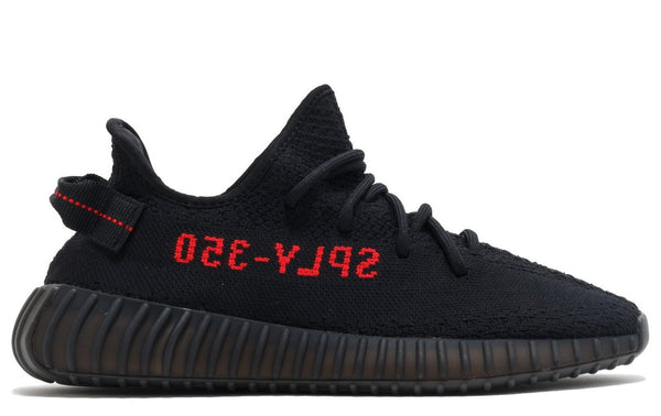 Yeezy 350 V2 - Black Red (BASF)