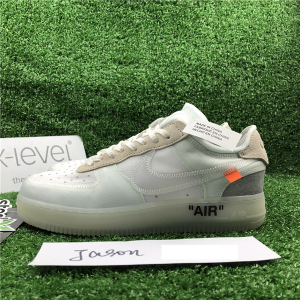 in stock f7a85 4ef37 ... Air Force 1 Low - Off-White ...