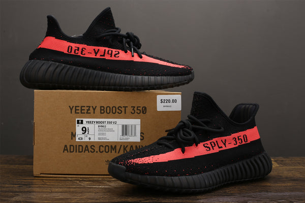 quality design 976d8 bafa7 Yeezy 350 V2 - Core Black Red (BASF) – X-Level