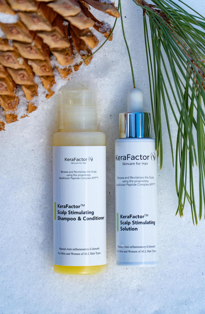 KeraFactor Solution and Conditioning Shampoo COMBO
