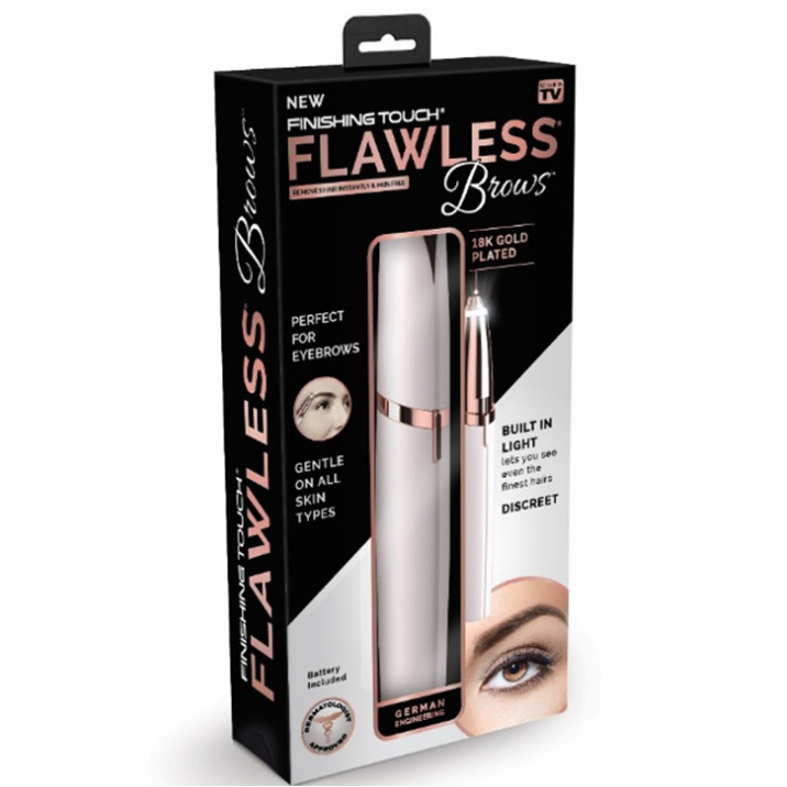 Flawlessly Brows Electric Eyebrow Hair Remover - Sparkycare