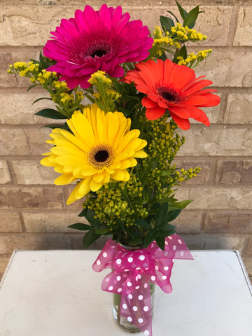 Fresh Flower Arrangement $25