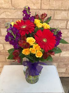 Fresh Flower Arrangement $45