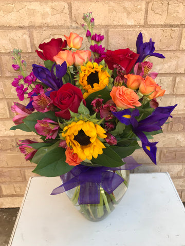 Fresh Flower Arrangement $60