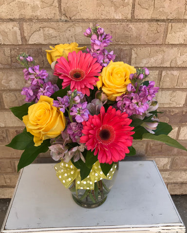 Fresh Flower Arrangement $50