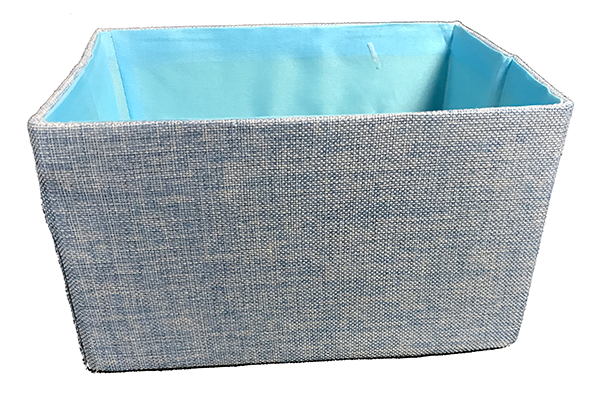 Canvas Box in Blue