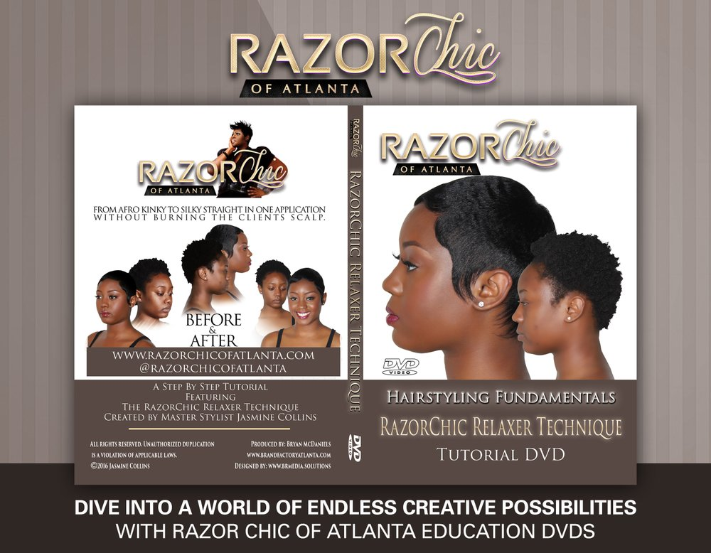 Razor Chic Relaxer Technique
