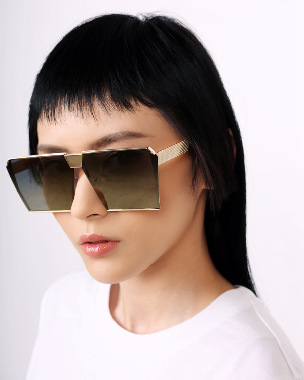Eighth Will Diva Oversized Sunglasses