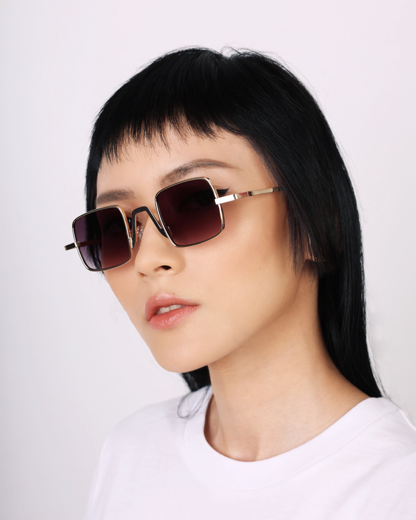 Eighth Will Grape Soda Square Sunglasses