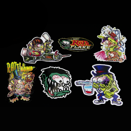 6 Sticker Set
