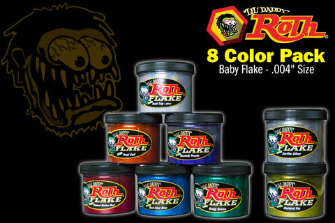 Roth Metal Flake 8 Color Pack</br>BABY