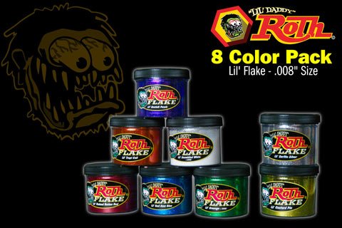 Roth Metal Flake 8 Color Pack</br>LIL'
