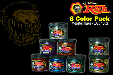 Roth Metal Flake 8 Color Pack</br>MONSTER