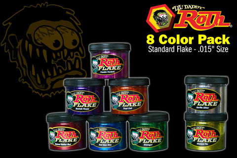 Roth Metal Flake 8 Color Pack</br>STANDARD