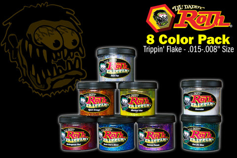 Roth Metal Flake 8 Color Pack</br>TRIPPIN'
