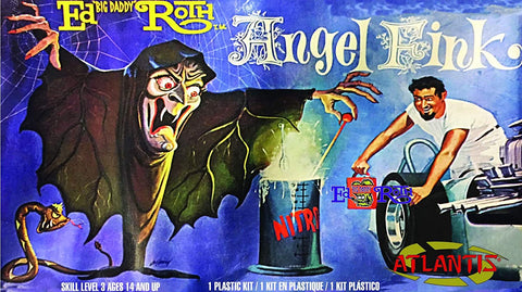 Ed Big Daddy Roth Angel Fink Witch Plastic Model Kit