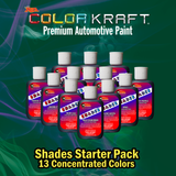 SHADES</br>Concentrated Color</br>13 Color Pack
