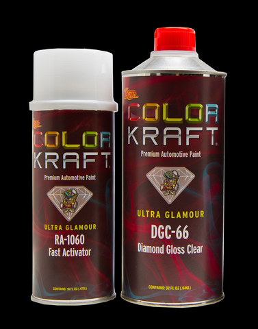 Diamond Gloss Clearcoat Kit<br /> QUART KIT