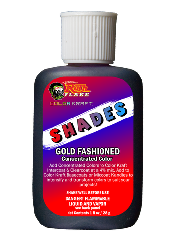 SHADES</br>Concentrated Color</br>Gold Fashioned