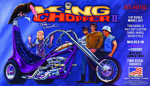 Tom Daniel King Chopper II 1/8 Plastic Model Trike kit