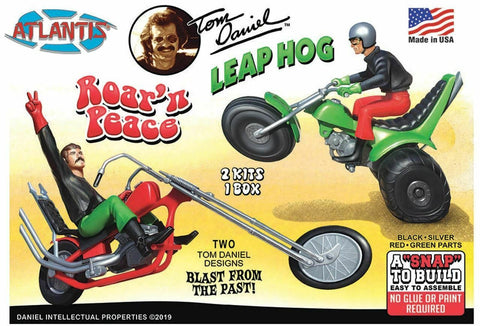 Tom Daniel Leap Hog ATV Roar'N Peace Motorcycle Snap Model kits