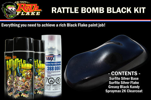 RATTLE BOMB KIT<br />Black Kit