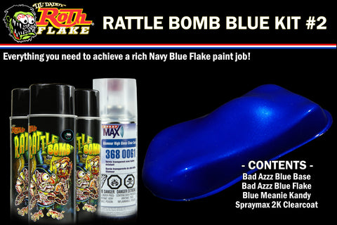 RATTLE BOMB KIT<br />Blue Kit #2