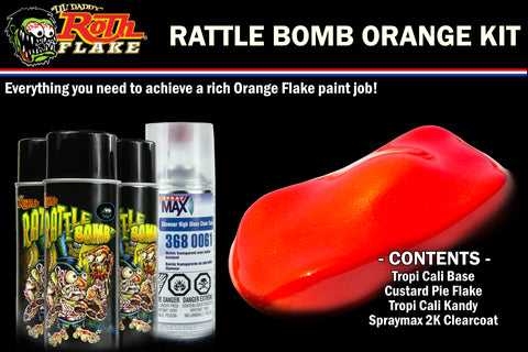 RATTLE BOMB KIT<br />Orange Kit