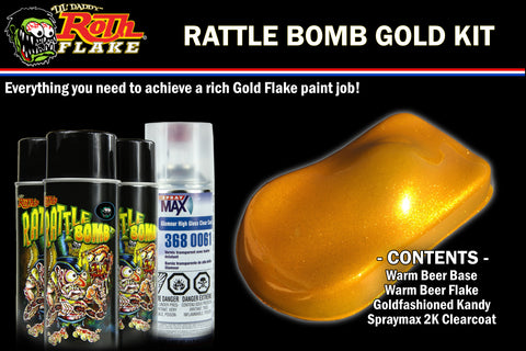 RATTLE BOMB KIT<br />Gold Kit