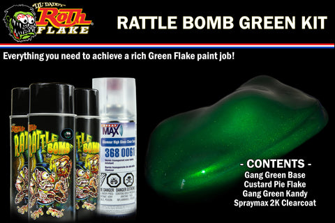 RATTLE BOMB KIT<br />Green Kit