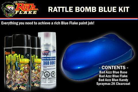 RATTLE BOMB KIT<br />Blue Kit