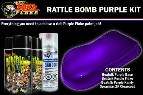 RATTLE BOMB KIT<br />Purple Kit
