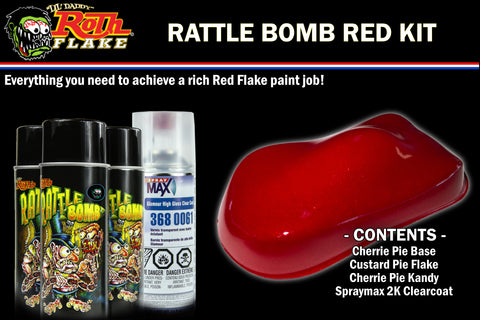 RATTLE BOMB KIT<br />Red Kit
