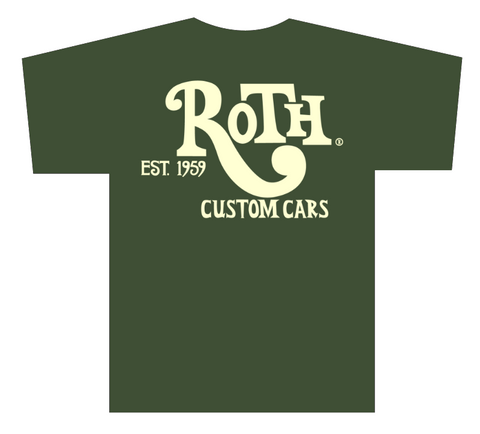 Custom Cars T-Shirt Dark Green