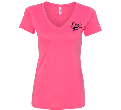 Roth Nail Polish Logo Woman's Shirt Pink