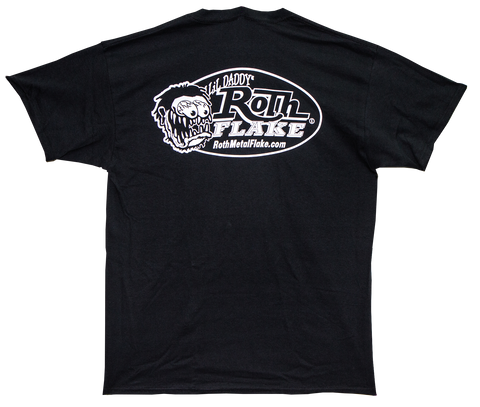 Roth Logo T-Shirt Black