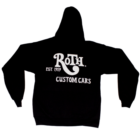 Roth Custom Cars Zip Up Hoodie Black