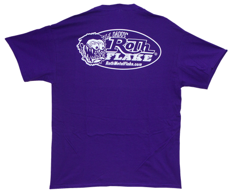 Roth Logo T-Shirt Purple