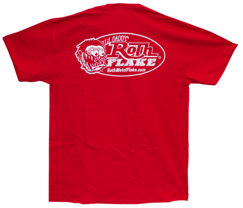 Roth Logo T-Shirt Red