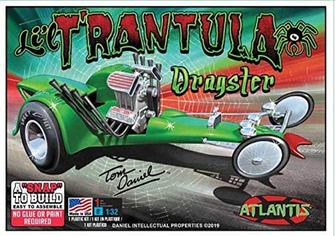 Tom Daniel Lil Trantula Show Rod Snap Plastic model kit 1/32